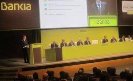 Foto: Bankia gana 244 millones hasta marzo, un 12,8% más (EUROPA PRESS)