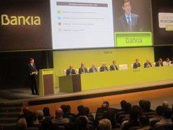 Foto: Bankia guanya 244 milions fins al març, un 12,8% més, per reducció de provisions i alça del marge net (EUROPA PRESS)