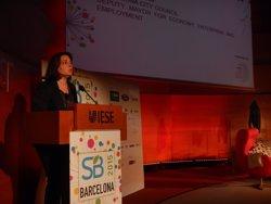 Foto: Recasens destaca la necessitat d'unir creixement amb responsabilitat i sostenibilitat (EUROPA PRESS)