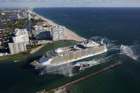 Foto: Málaga recibe con distintas actividades al crucero más grande del mundo (EUROPA PRESS/RCCL)