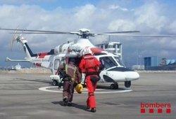 Foto: Successos.- Rescaten dos excursionistes ferits a la serra del Cadi (BOMBERS)
