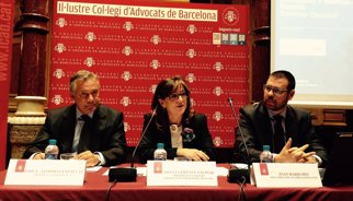 Lesions in itinere i estrès centren les patologies que pateixen els advocats a Espanya
