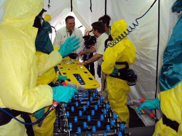 Foto: Junta destaca la labor de 36 unidades de prevención de riesgos laborales