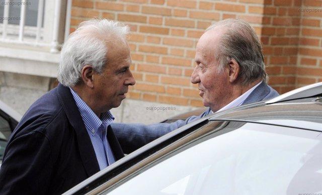 Foto: El Rey Juan Carlos, comida tras publicarse que quería separarse de Doña Sofía (RICARDO GARCIA/CHANCE)