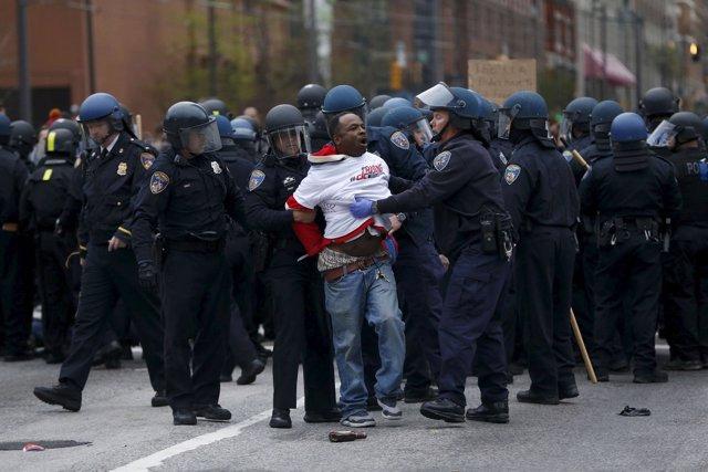 Foto: El gobernador de Maryland declara el estado de emergencia por los disturbios en Baltimore