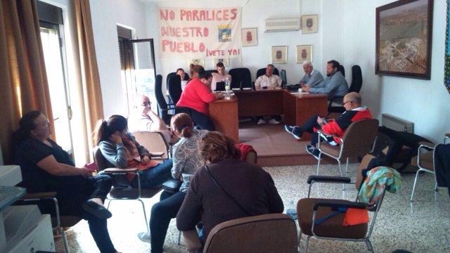Foto: Vecinos de Espeluy se manifestarán este martes para recordar que llevan tres semanas de encierro indefinido