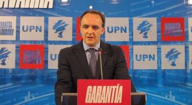 """Foto: Javier Esparza dice que el Gobierno """"se decidirá por un puñado de votos"""" (EUROPA PRESS)"""
