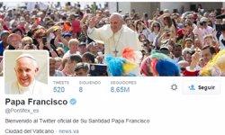 Foto: El papa Francesc és l'usuari de Twitter amb més influència (TWITTER)