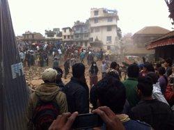 Foto: El balanç pel terratrèmol del Nepal supera els 4.500 morts (SUJEETA MATHEMA/ACTIONAID NEPAL)