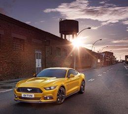 Foto: Ford recibe 2.200 pedidos del Mustang en Europa (FORD)