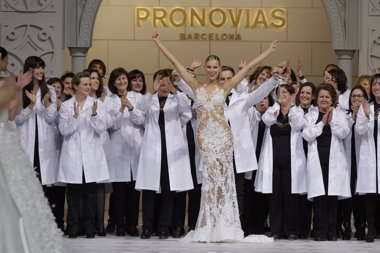 Foto: Irina Shayk y Blanca Padilla desfilarán para Pronovias en Barcelona (PRONOVIAS)