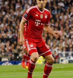 Foto: Robben pateix un trencament fibril·lar i és dubte per a la 'Champions' (EUROPA PRESS)
