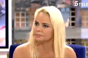 """Foto: Leticia Sabater en 'Sálvame Deluxe': """"He estado con deportistas, periodistas y políticos"""" (TELECINCO)"""
