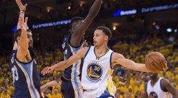 Foto: Los Warriors arrancan las 'semis' con un serio aviso a Memphis (REUTERS)