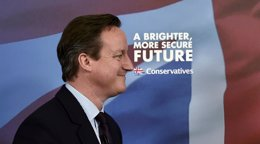 """Foto: Cameron se presenta como alternativa al """"caos"""" en el inicio de una semana clave (TOBY MELVILLE / REUTERS)"""