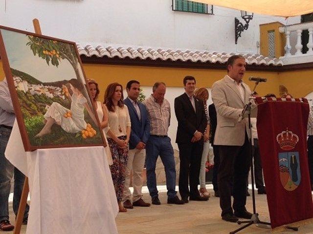 Foto: Alrededor de 7.000 personas visitaron Sayalonga (Málaga) el Día del Níspero