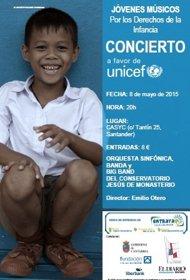 Foto: Casyc acogerá un concierto para apoyar el trabajo de Unicef en Nepal (UNICEF CANTABRIA)