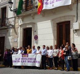 Foto: Día de luto y minuto de silencio en Sorbas y Níjar por el doble crimen (EUROPA PRESS)