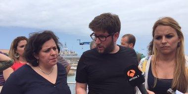 Foto: Podemos presentará una pregunta ante la CE para exigir una investigación en profundidad sobre el Oleg Naydenov (EUROPA PRESS)
