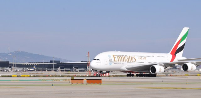 Foto: Emirates prevé aumentar un 35% sus pasajeros en Barcelona este 2015