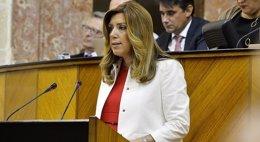 Foto: Díaz afronta la segunda sesión de investidura sin apoyos ajenos al PSOE-A (EUROPA PRESS/JUNTA/ARCHIVO)