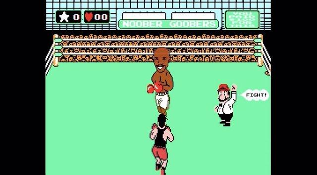 Foto: Recrean el combate de Mayweather y Pacquiao en una NES