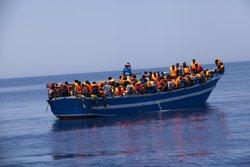 Foto: Uns 40 immigrants haurien mort al canal de Sicília, segons Save the Children (IKRAM N'GADI/MSF)