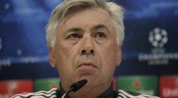 """Foto: Ancelotti: """"El 2-1 nos deja contentos porque tenemos confianza de remontar"""" (EUROPA PRESS)"""