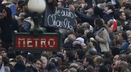 Foto: El semanario satírico Charlie Hebdo será homenajeado en Nueva York (CHARLES PLATIAU / REUTERS)