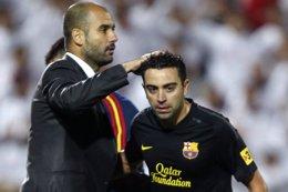 """Foto: Xavi: """"Tiene su punto de morbo que vuelva Guardiola"""" (REUTERS)"""
