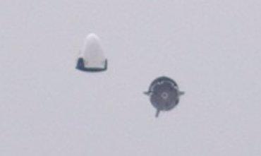 Foto: SpaceX prueba un revolucionario escape de emergencia para despegues abortados (BEN COOPER/SPACE X)