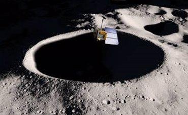 Foto: La NASA acerca su nave LRO a los misterios del polo sur de la Luna (NASA/GSFC/SVS)