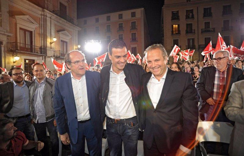 Sánchez, Carmona y Gabilondo
