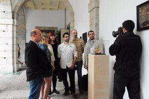 Foto: Parlamento.- ACAV expone hasta hoy 'La luz, materia prima del arte' en el patio del Parlamento (PARLAMENTO)