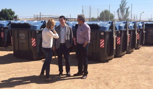 Extremadura se marca como meta reciclar el 50 de los for Marca municipales