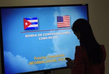 Foto: Restablecen servicios bancarios a la Sección de Intereses de Cuba en EEUU (REUTERS)