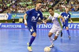 Foto: El Inter Movistar se apunta el primer punto de semifinales (LNFS)