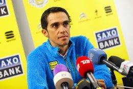 """Foto: Contador: """"Estoy mejor de lo que imaginaba"""" (TINKOFF-SAXO)"""
