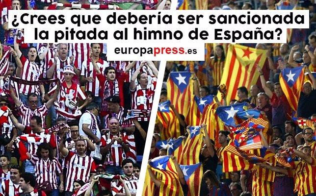 DEbate: ¿Crees que debería ser sancionada la pitada al himno de España?