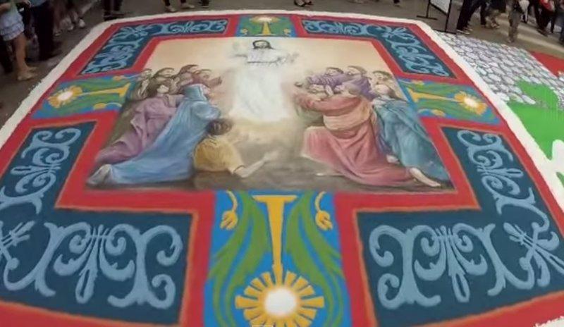 El arte de las alfombras del corpus christi en brasil for Precio de las alfombras persas