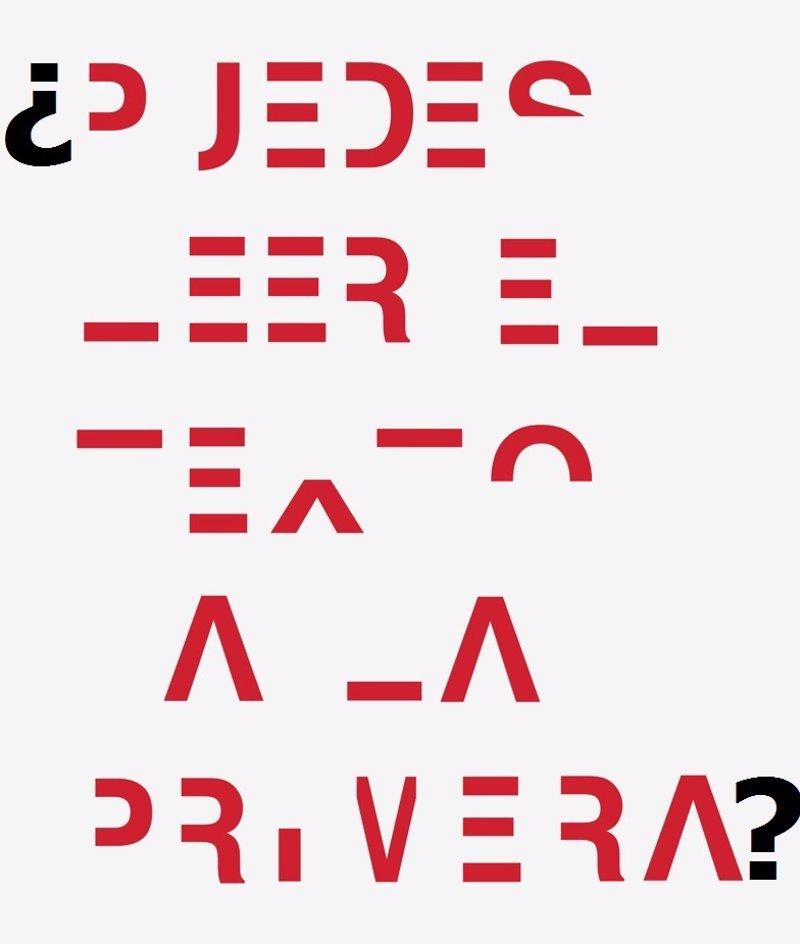 La dislexia dificulta la lectura. ¿Puedes leer el texto a la primera?