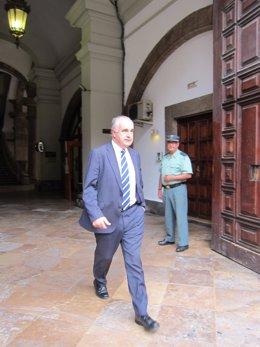 Rafael Blasco A Su Salida Del TSJCV