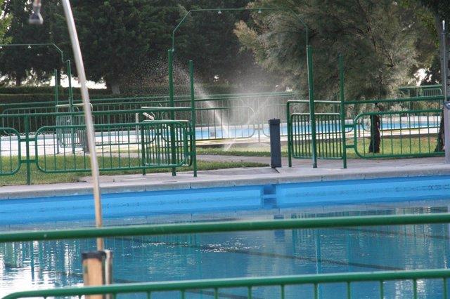 Las piscinas municipales de mequinenza abren sus puertas for Piscinas municipales zaragoza 2017