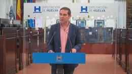 El portavoz del equipo de gobierno de la Diputación de Huelva, José Luis Ramos.