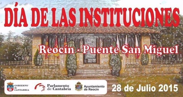 Cartel del Día de las Instituciones