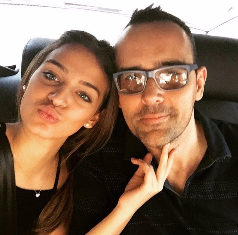 risto mejide y su novia laura escanes en instagram