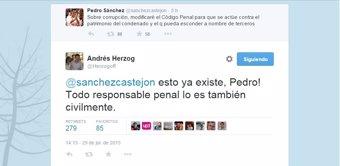 UPyD también aclara a Pedro Sánchez que su idea de reformar el Código Penal en materia de corrupción