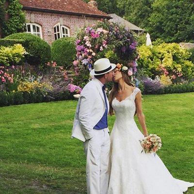 Foto: Guy Ritchie y su novia Jacqui Ainsley se dan el 'sí quiero' en su residencia de Wiltshire (INSTAGRAM)