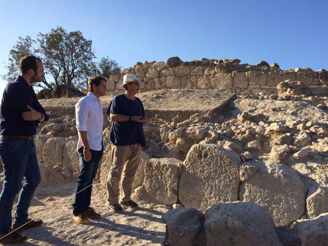 Hallazgos en las excavaciones del Cerro de la Merced