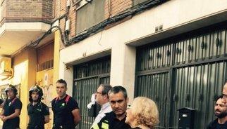 Carmena alojará en viviendas de entidades bancarias a los vecinos desalojados por el derrumbe en Carabanchel